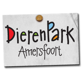 Picture shows the logo for Dierenpark Amersfoort created by STORMYSUNDAY