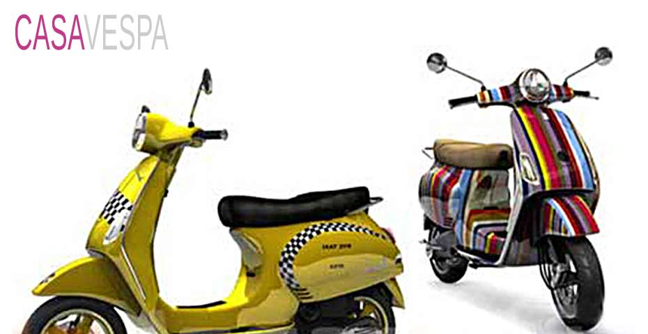 Picture showing a 3D rendring of 2 scooters, creatively decorated.