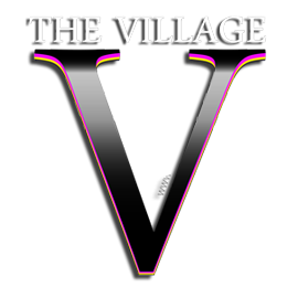 Picture shows the logo for The Village created by STORMYSUNDAY